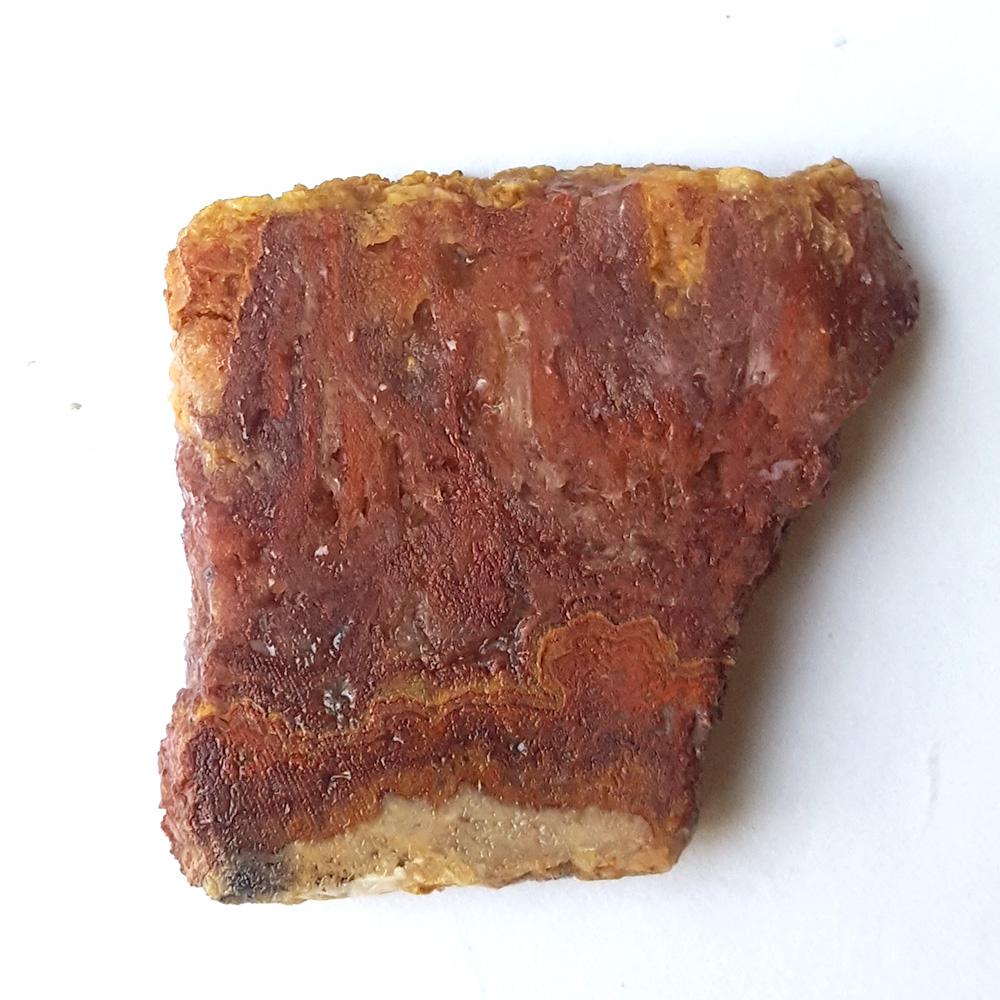 #4877 Bacon Opal / Candy Stripe Opal