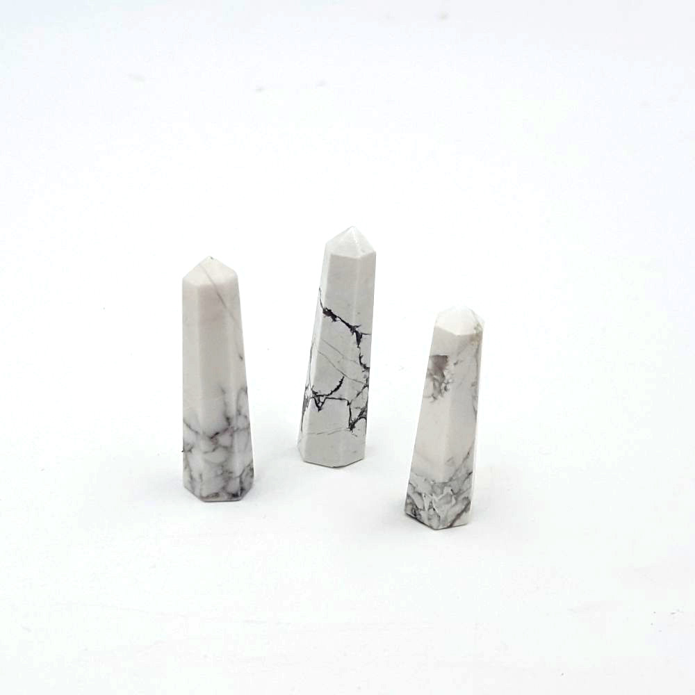 Howlite Obelisk - Grid Point