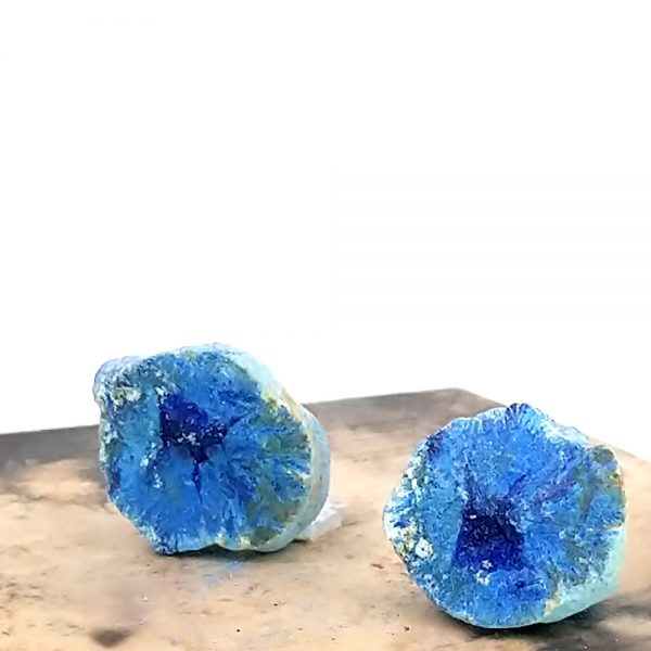 "Azurite ""Blueberry"" Geode"