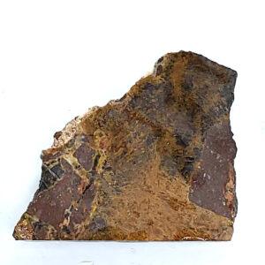 9396 - Clemenite - Psilomelane Plume Agate