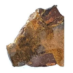 9397 - Clemenite - Psilomelane Plume Agate